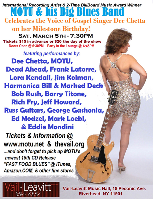The Concert Celebration of Dee Chetta at The Vail